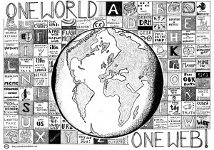 One World, One Web, by PSD, licence CC